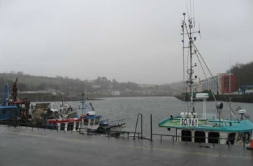 Looking towards Bantry creek from the pier.