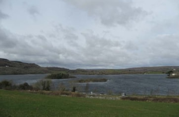 Lough Inchiquin from the south end.