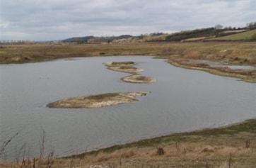 Part of Twenty Island Lake.