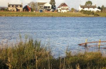 View looking across Loch Flemington