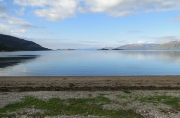 From Cuil Bay looking back in to Loch Linnhe.