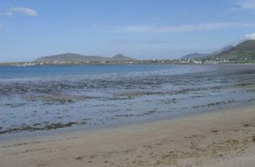 Looking east from Baile an Reannaigh towards Murreagh.