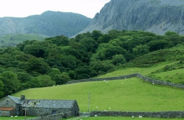 Cadair Idris from the North.