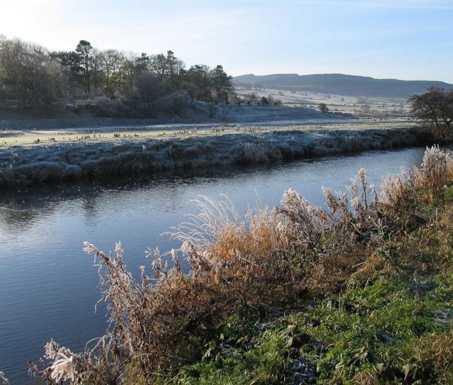 River Coquet at Rothbury, Northumberland