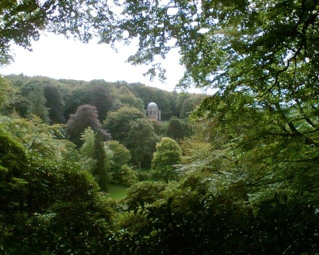 The folly made famous in various films (<i>Pride and Prejudice</i> with Ms Knightley for example).