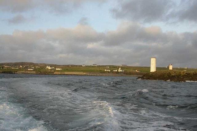 Leaving Inishbofin.