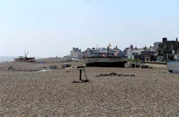 Aldeburgh seafront.