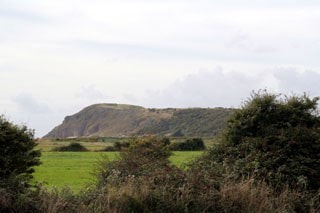 Brean Down from Uphill