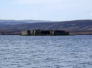 Looking across to Lochindorb Castle
