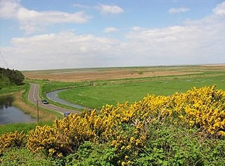Cley Marshes from Walsey Hills