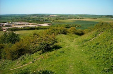 Bison Hill forms part of Whipsnade Down. Excellent butterfly site with Green Hairstreak, Duke of Burgundy and many other downland species present.