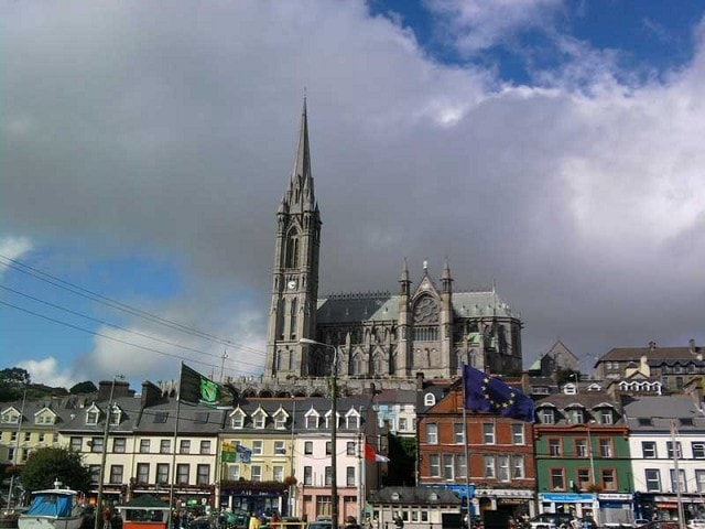 The impressive St. Colman's Cathedral.