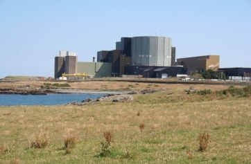 Wylfa Nuclear Power Station.