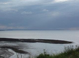 View over estuary towards southwest