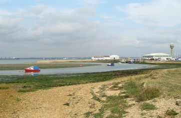 Calshot Marshes and Spit.