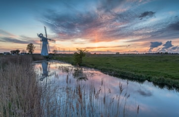 Another one of those wonderful places in Norfolk where you can spend ages just enjoying the peace and quiet of nature.