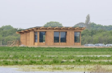 The new Visitor Centre opened April 09.