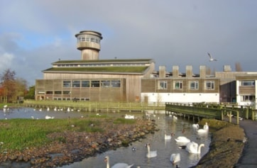 The Visitor Centre, Slimbridge.