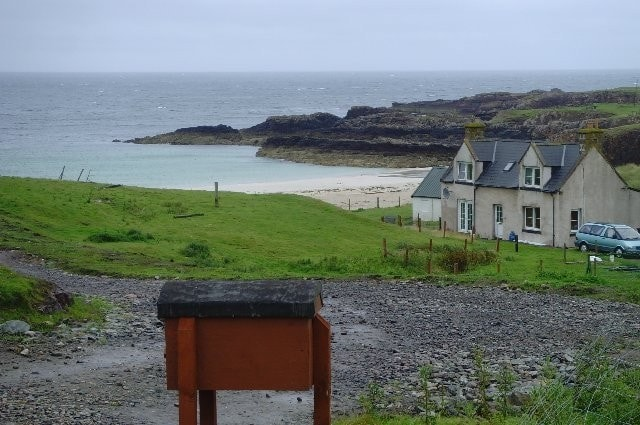 Just south of Point of Stoer at Clachtoll.