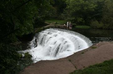 Weir in Monsal Dale.