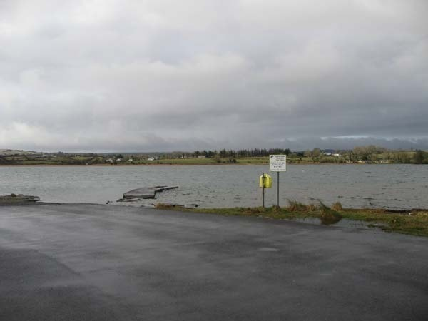 Loughrea from the car park at the south end.