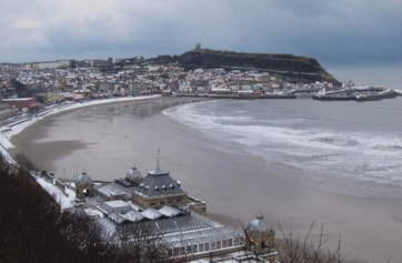 Scarborough South Bay, taken from South Cliff.