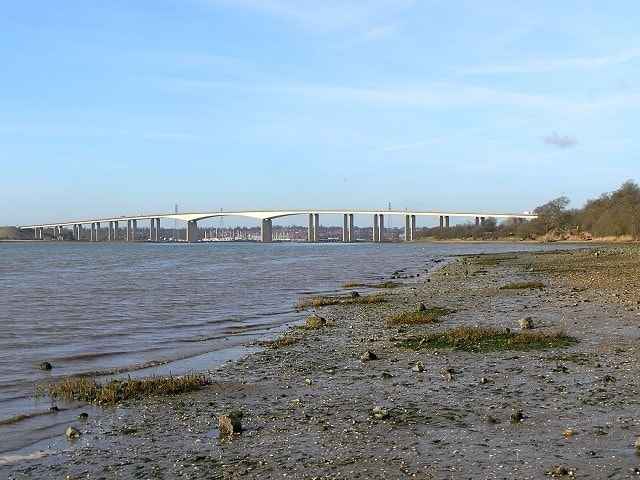 Orwell Bridge, Suffolk.