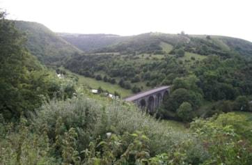 Monsal Head Viaduct.