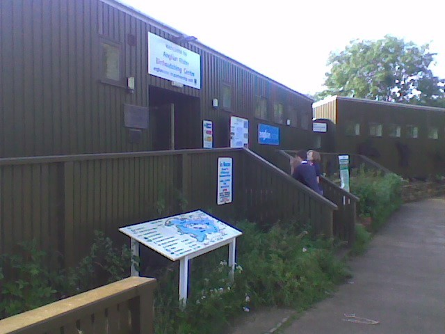 Anglian Water Birdwatching Centre.