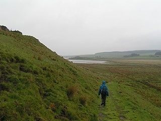 Distant view of western end from Cragend.