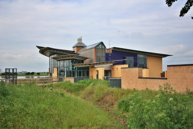 """RSPB Visitor Centre &copy; Copyright <a title=""""View profile"""" href=""""http://www.geograph.org.uk/profile/24103"""">Paul Buckingham</a> and  licensed for reuse under this <a rel=""""license"""" href=""""http://creativecommons.org/licenses/by-sa/2.0/"""">Creative Commo"""