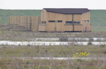 The new East Hide opened April 09.