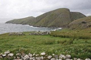 Garbh Eilean seen from Eilean an Taigh.