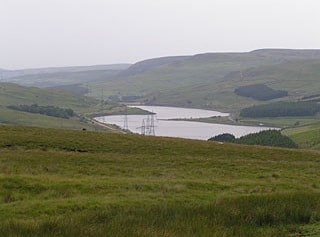 Woodhead Reservoir from the east.
