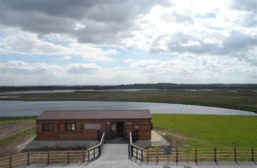 The new visitor centre at St. Aidan's RSPB.
