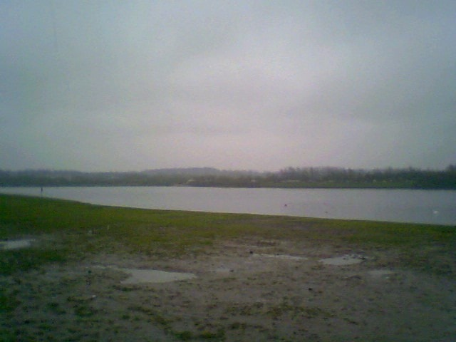 The main lake.