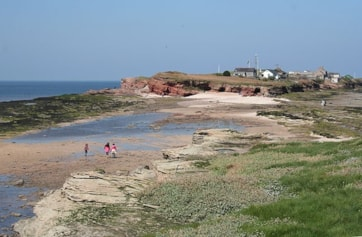 Hilbre Island from Middle Eye (Little Hilbre Island).