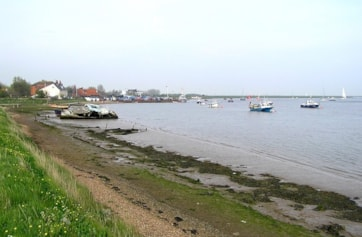 Orford Quay and River Alde.