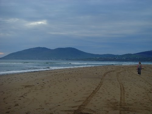 Looking west along Ballinskelligs Bay from Inny Strand.